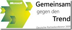 Microsoft Partnerkonferenz 2009