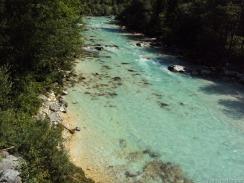 Grünblaues Wasser