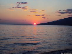 Sonnenuntergang in Starigrad