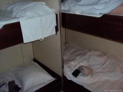 wir können eine Cabinen-Party feiern. 2 zusätzliche Betten !