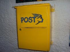 Postkasten handgemalt