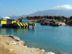 Die Brücke ist versengt... heute sind Bauarbeiten angesagt... schade