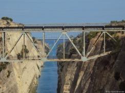 Brücke über den Kanal von Korinth