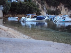 tja, der Anhänger mit unserem Boot, den haben wir vergessen :-)