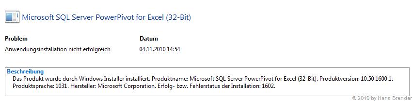 Detail Anzeige Zuverlässigkeit Windows 7