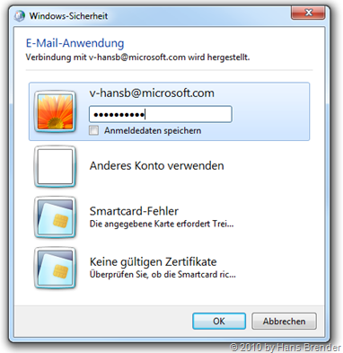 E-Mail Authentifizierung