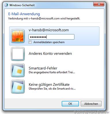 E-Mail Authentifizierung