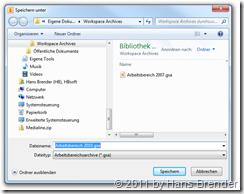 Standardverzeichnis Archiv SharePoint Workspace 2010