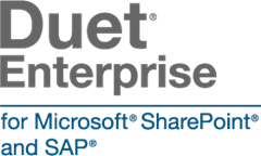 Duet Enterprise for Microsoft SharePoint and SAP
