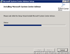 System Center Advisor Setup