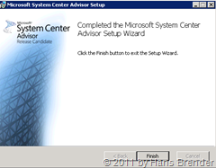 System Center Advisor: Agent / Gateway installiert