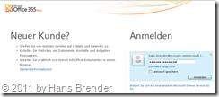 Office 365: Anmelden