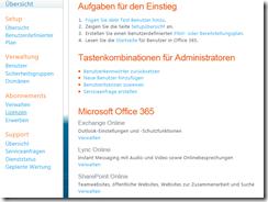 Office 365: Übersicht
