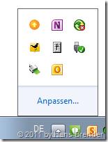Microsoft Office Uploadcenter: Öffnen über die Taskleiste