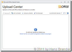 Microsoft Office Upload Center