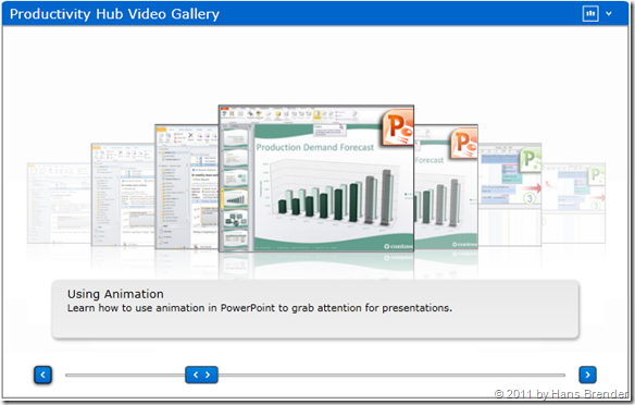 Productivity Hub: Video Gallery