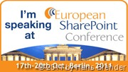 Ich spreche auf der Europen SharePoint Conference 2011 in Berlin