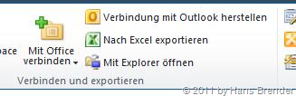 SharePoint Server 2010: mit Explorer öffnen
