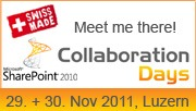 Meet Me CollabDays11 in Luzern