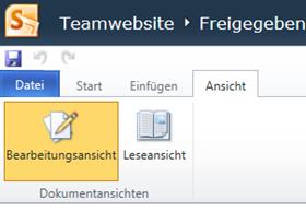 Im Browser kann unter Office 365 derzeit nicht gemeinsam an einem Word Dokument gearbeitet werden