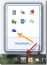 Infobereich, SkyDrive Pro