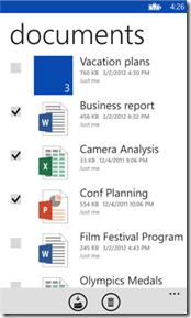 SkyDrive App 3.0