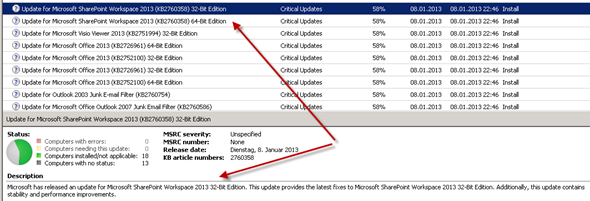 Update zu SharePoint Workspace  2013, SkyDrive Pro