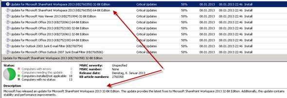 Update zu SharePoint Workspace  2013, SkyDrive Pro