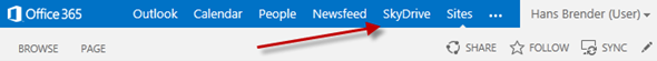 SkyDrive Pro in SharePoint Server, SharePoint Online, Office 365