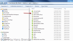 SkyDrive Desktop app, SkyDrive folders in Windows Explorer