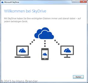 Willkommen bei SkyDrive