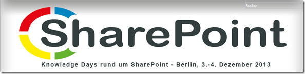 Knowledge Days, Sharepoint, Berlin