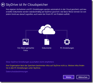 SkyDrive Erklärung