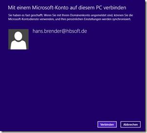 Verküpfung des Firmen-Accounts mit SkyDrive