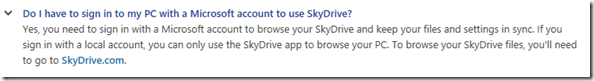 no Skydrive without login with a SkyDrive account