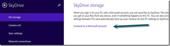 Link to connect you domain joined PC with SkyDrive