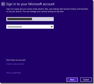 Sign in to your MS account