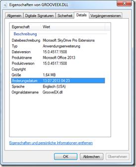 Grooveex.dll mit der Version 15.0.4517.1508