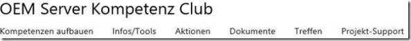 OEM Server Kompetenz Club