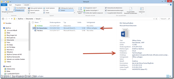 OneDrive, SkyDrive, Windows Explorer