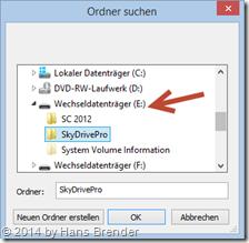 SkyDrive Pro : Wo sollen die Daten abgelegt werden