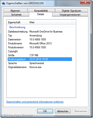 OneDrive for Business, SkyDrive Pro, Groove.exe