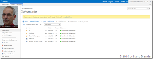 OneDrive, MySite, SharePoint Online,