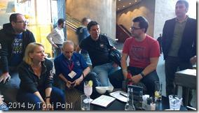 SharePoint Diskussion: mit @magrom, @jseghers, @jthake, @adisjugo, @hansBrender