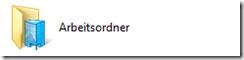 Arbeitsordner, Work Folders