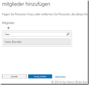 Office 365: Mitglieder hinzufügen