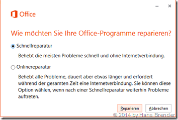 OneDrive for Business: Reparatur