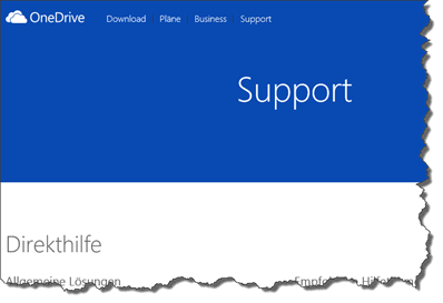 Microsoft, Support, OneDrive