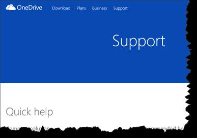 Microsoft, OneDrive, Support,