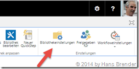 OneDrive for Business: Versionshistorie: Bibliothekseinstellungen